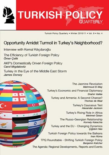 Opportunity Amidst Turmoil in Turkey's Neighborhood