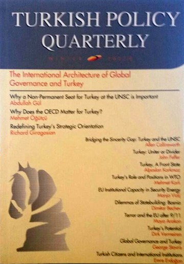 The International Architecture of Global Governance and Turkey