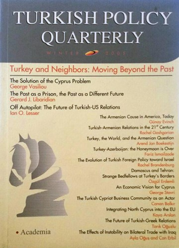 Turkey and Neighbors: Moving Beyond the Past