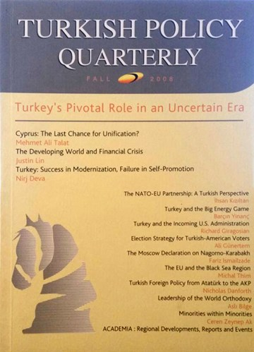 Turkey's Pivotal Role in an Uncertain Era
