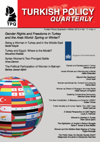 Gender Rights and Freedoms in Turkey and the Arab World: Spring or Winter?