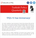 Call for papers and more from TPQ!