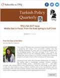 TPQ's Fall 2017 Issue Middle East in Focus: From the Arab Spring to Gulf Crisis