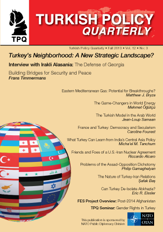 Turkey's Neighborhood: A New Strategic Landscape?