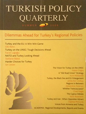 Dilemmas Ahead For Turkey's Regional Policies