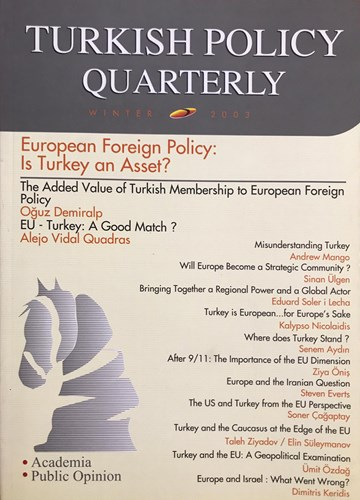 European Foreign Policy: Is Turkey an Asset?
