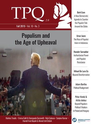 Populism and the Age of Upheaval