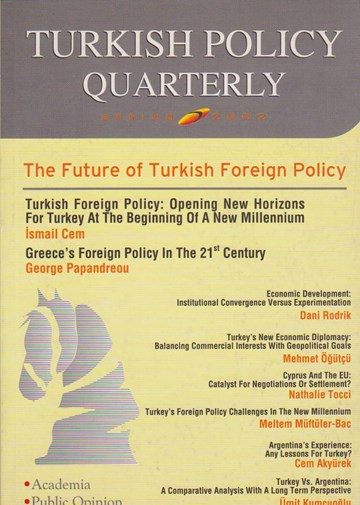 The Future of Turkish Foreign Policy