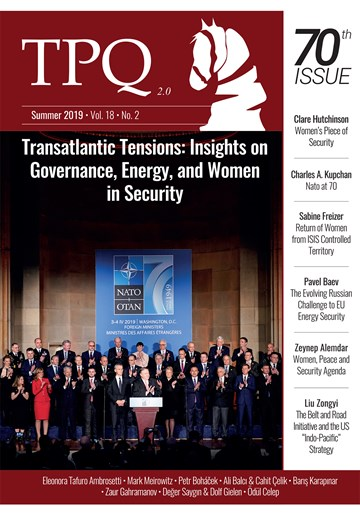 Transatlantic Tensions: Insights on Governance, Energy and Women in Security