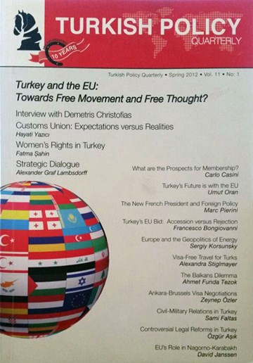 Turkey and the EU: Towards Free Movement and Free Thought?