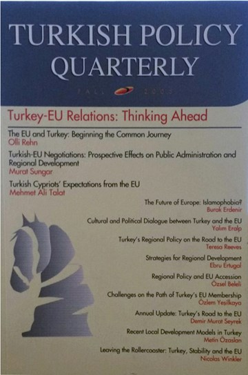 Turkey-EU Relations: Thinking Ahead