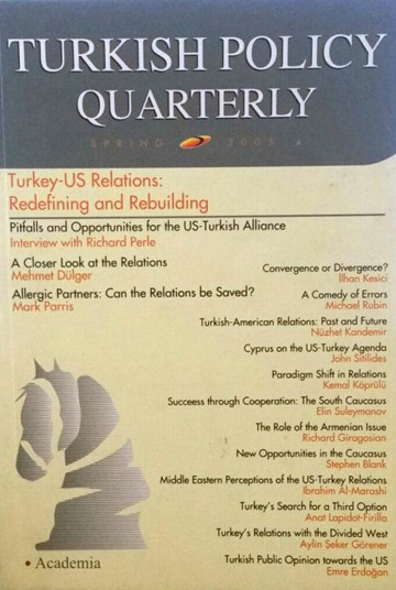 Turkey-U.S. Relations: Redefining and Rebuilding