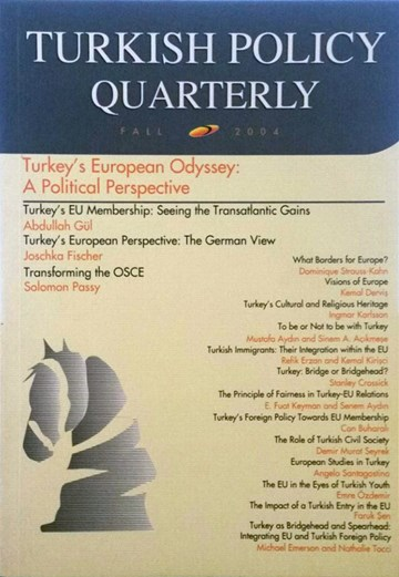Turkey's European Odyssey 1: A Political Perspective