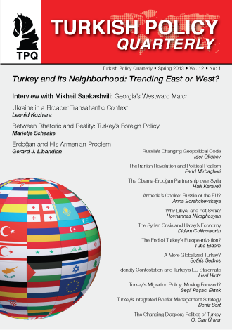 Turkey and its Neighborhood: Trending East or West?
